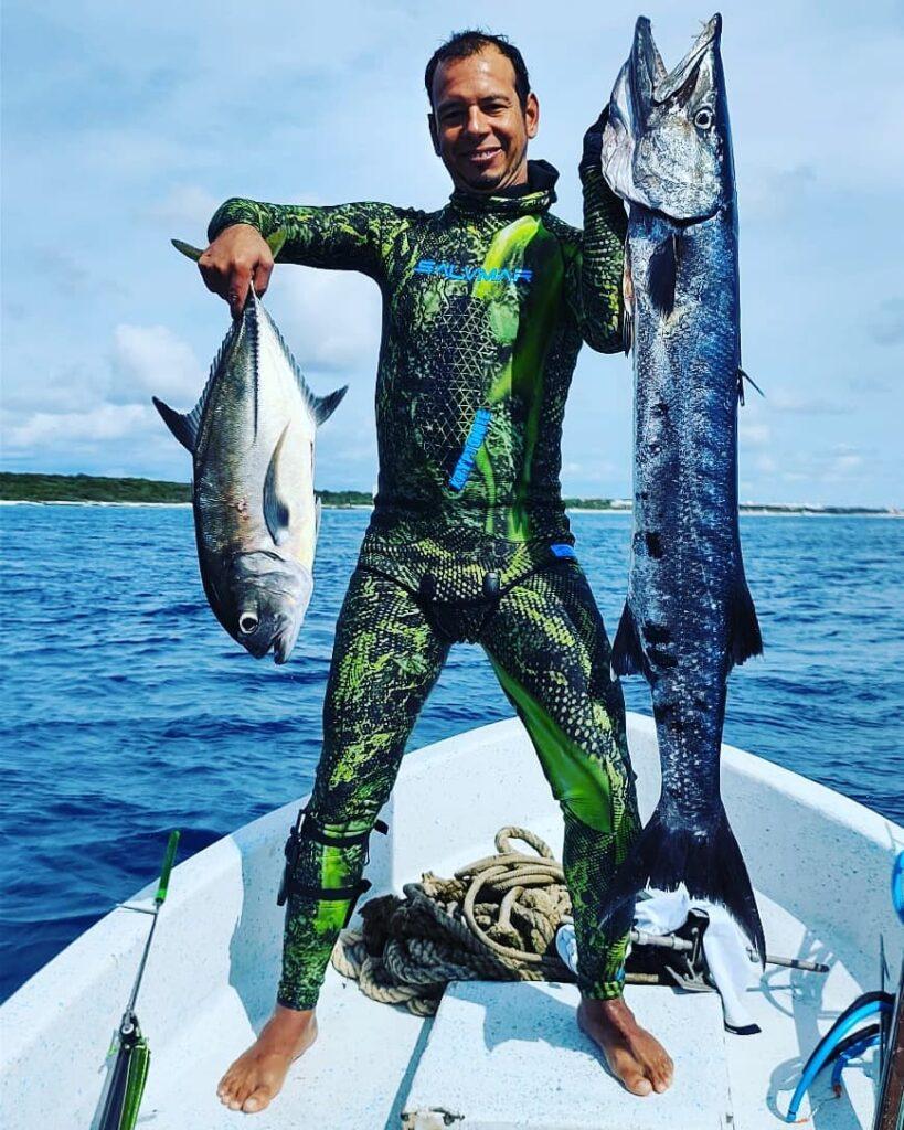 pesca con harpón cancún